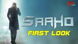 Stunning First Look Poster Of Prabhas Saaho | Prabhas Birthday Special