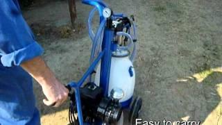 Trolley Kit - mobil fejőegység
