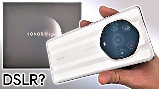Honor Magic3 Pro+ UNBOXING and Initial REVIEW - DSLR Replacement?