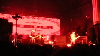 Feeder @ O2 Academy 17/11/12 - Tender