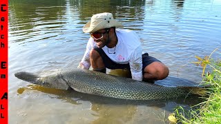 CATCHING the BIGGEST FISH in your CITY! **On a Coke Bottle**