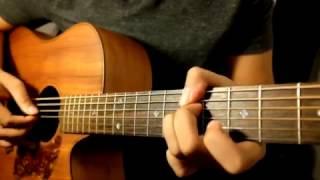 """Adhitia Sofyan """"Memilihmu"""" Tutorial Gitar - Video 2 : Full Song."""