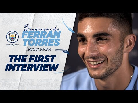 FERRAN TORRES SIGNS FOR CITY FROM VALENCIA | MAN CITY