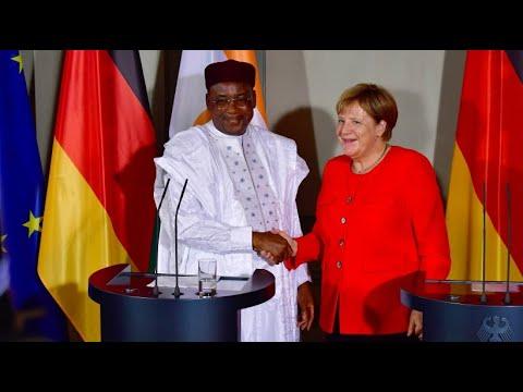 Merkel empfängt Nigers Präsidenten