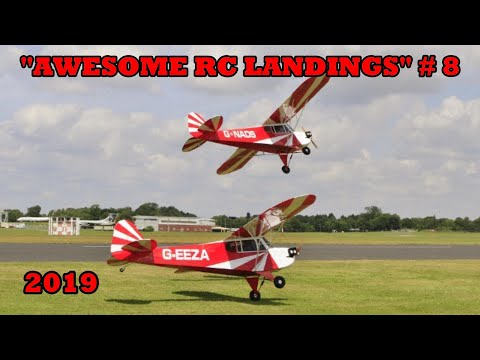 """""""AWESOME RC LANDINGS"""" - MIXED MODELS / SPORTS & GENERAL # 8 - 2019"""