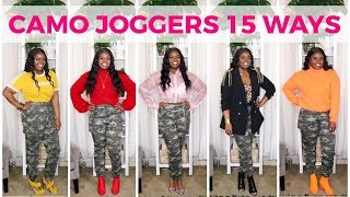 HOW TO STYLE CAMO JOGGERS (15 WAYS)