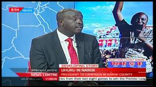 Uhuru in Narok interview with Danson Omari and Gabriel Muthuma