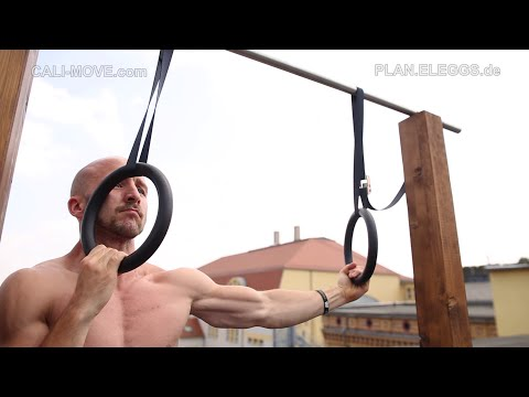 Warum du unbedingt an Ringen trainieren solltest