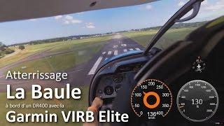 preview picture of video 'Robin DR400 atterrissage La Baule-Escoublac (Garmin VIRB Testeur)'