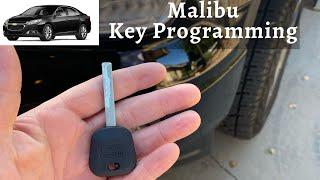 How To Program A Chevy Malibu Key 2004 - 2016 DIY Chevrolet Transponder Ignition
