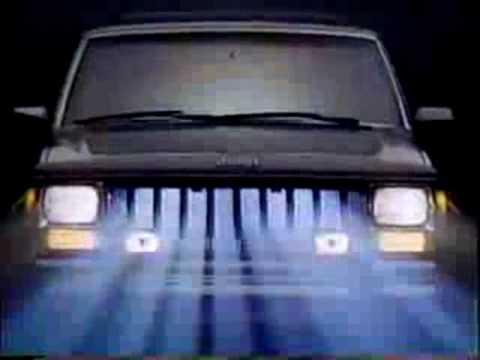 Screenshot of 1987 Jeep Cherokee Commercial