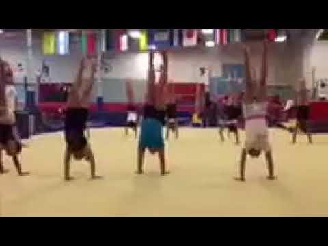 Preteen Gymnastics at the Los Angeles School of