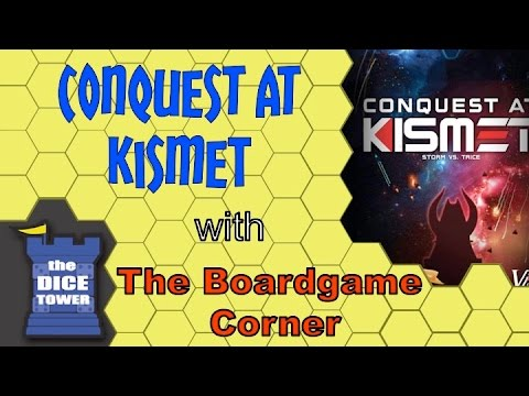 Boardgame Corner (Dice Tower) Reviews: Conquest At Kismet