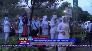 Gempa 5 Skala Richter Warga Kota Padang Panik  NET 24