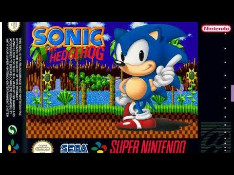 Sonic The Hedgehog SNES Demo