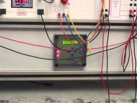 Under Over Frequency Relay Trainer