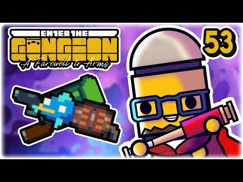 Recycling & Fish Synergies | Part 53 | Let's Play: Enter the Gungeon: Farewell to Arms | PC Gameplay