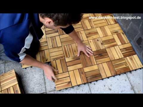 Holzfliesen Test Oder Vergleich Top Produkte - Holzfliesen innenraum