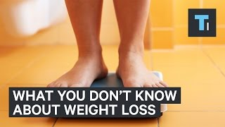 Here's what they don't tell you about losing weight