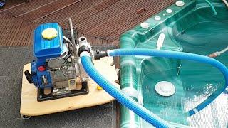 Benzinwasserpumpe Wartung Und Test
