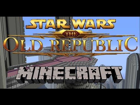Star Wars in Minecraft - Taris - Star Wars the Old Republic - Download link!