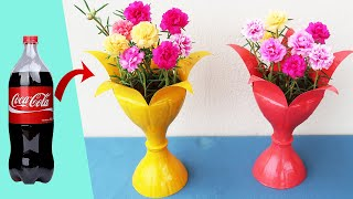 Creative Flower Pot Ideas From Discarded Plastic Bottles