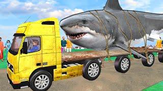 बड़ा मछली ट्रक Giant Fish Truck Village Kahani हिंदी कहानियां Hindi Kahaniya - Hindi Comedy Stories