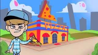 MattyBRaps - Turn Up The Track (Animated Version)