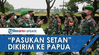 400 Personel TNI dari 'Pasukan Setan' Diberangkatkan ke Papua, Misi Utama Lumpuhkan KKB