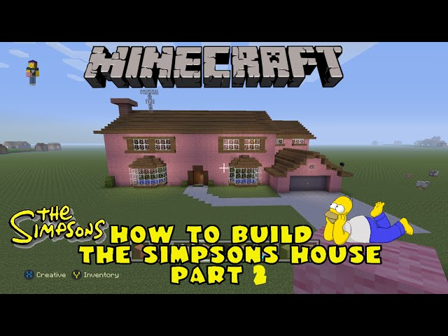 Play download minecraft how to build the simpsons house part