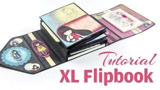 [Scrapbook Tutorial] XL Flipbook Gorjuss | One-Page Mini Album | DEUTSCH