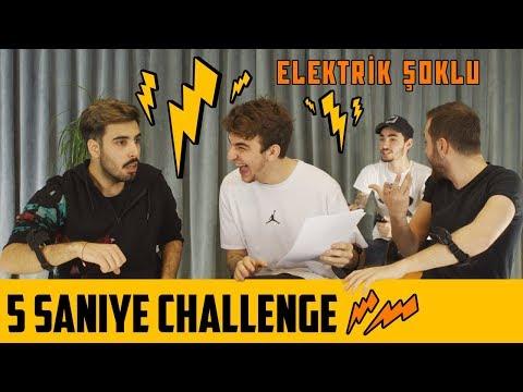 5 SANİYE CHALLENGE | ELEKTRİK ŞOKLU