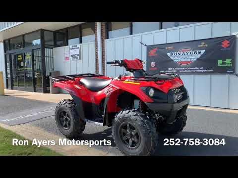 2020 Kawasaki Brute Force 750 4x4i in Greenville, North Carolina - Video 1