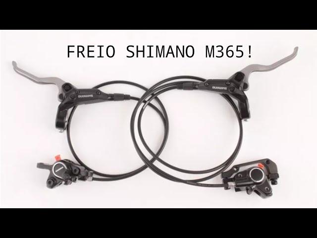 Видео Тормоз дисковый передний Shimano Altus M365