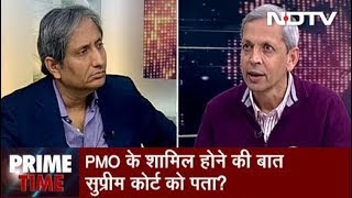 Prime Time With Ravish Kumar, Feb 08, 2019   Political Row Erupts Over New Report on Rafale Deal