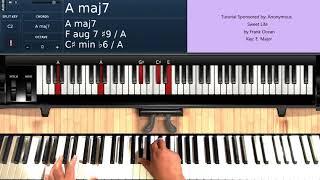 Sweet Life (by Frank Ocean) - Piano Tutorial