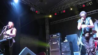 ANTI - NOWHERE LEAGUE - Burn 'Em All. EXIT 2011, Explosive stage