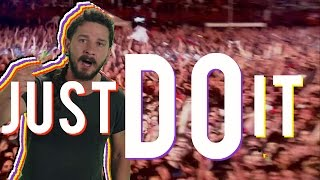 JUST DO IT!!! ft. Shia LaBeouf - Songify This