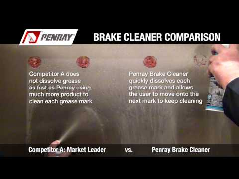 Penray Brake Cleaner Comparison