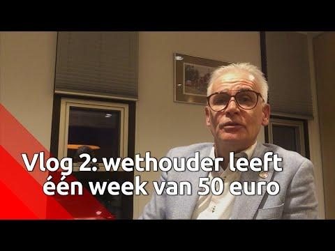 Dag 2: wethouder Kees van Geffen probeert rond te komen van vijftig euro