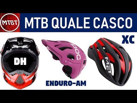 Casco MTB quale comprare tutorial e consigli per la scelta XC AM Enduro DH | MTBT