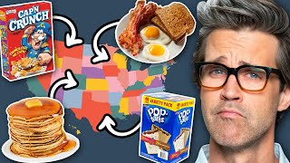 What's The Most Popular Breakfast In Each State?