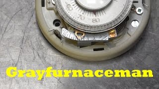 How to adjust the cycles per hour of the mechanical thermostat