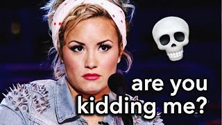 WORST INTERVIEWS DEMI LOVATO'S BEEN IN | Lovato Gallery