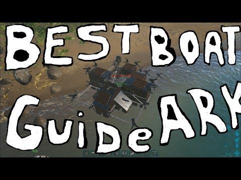 Mining Boat Tutorial, Deadly PvP motorboat - Ark Survival