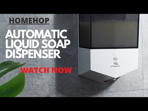 Hh1003 Automatic Wall Hanging Sanitizer Dispenser