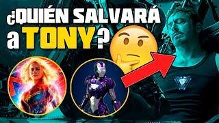 ¡Brutal! ¿QUIÉN salvará a TONY? Descubre los SECRETOS de Avengers: EndGame