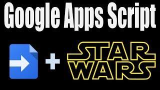 Star Wars Crawl with Google Docs