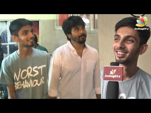 Anirudh-Sivakarthikeyan-at-Remo-FDFS-Kasi-Theatre--Senjitaley-was-a-mass-hit-Interview