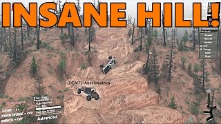 Spin Tires | HARDEST ROCK CRAWLING YET!?